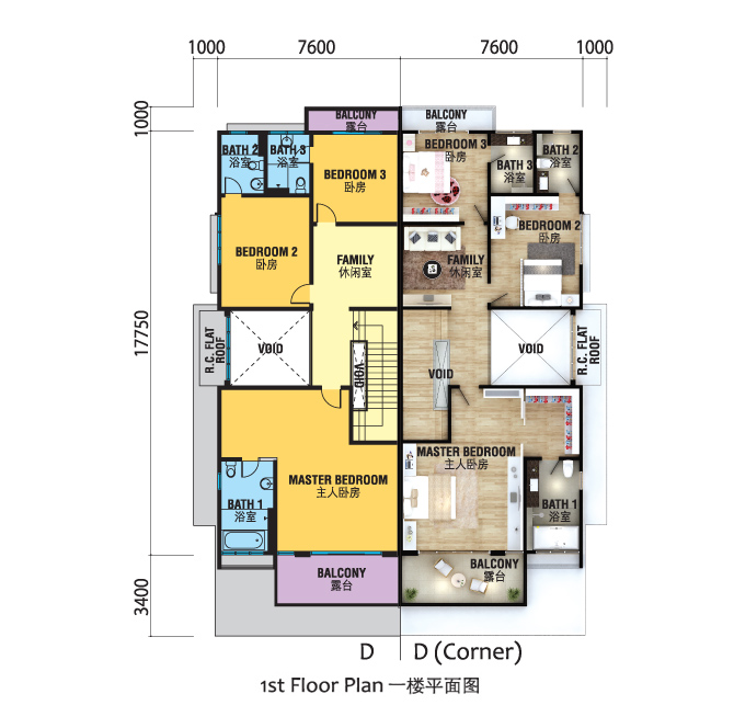 bedroom house plans d - basement duplex house plan with open floor